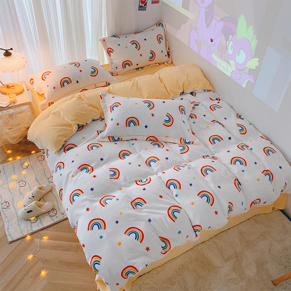 Lovely Rainbow Bedding Set JK2419