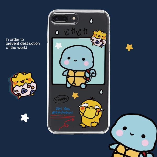 Lovely Pikachu Phone Case for iphone 6/6s/6plus/7/7plus/8/8P/X/XS/XR/XS Max/11/11 pro/11 pro max JK2059
