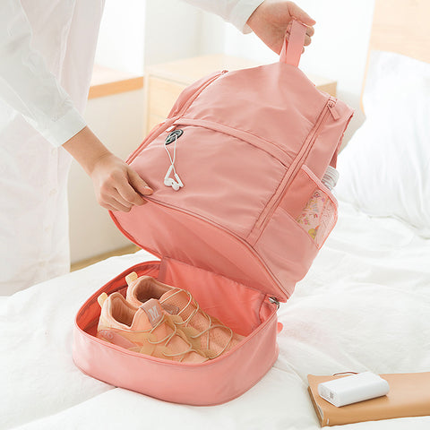 Fashion Travel Shoes Backpack JK2031