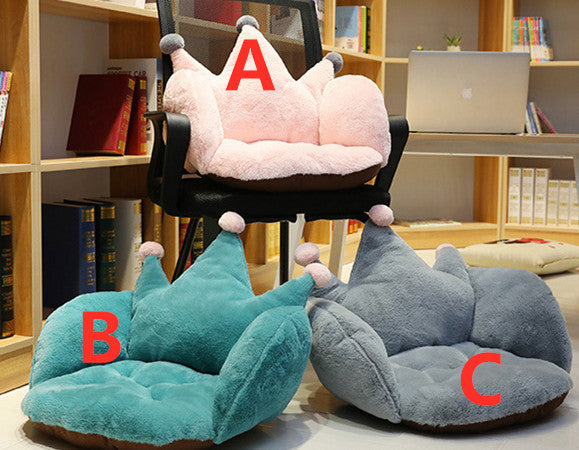 Kawaii Crown Seat Cushion JK2525