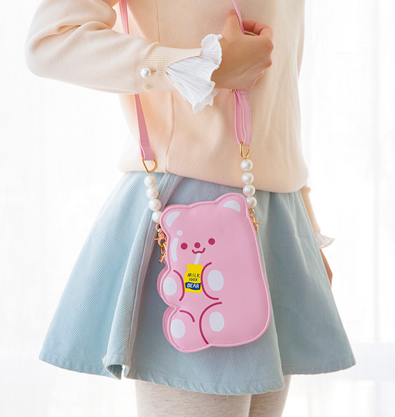 Lovely Bear Shoulder Bag JK2116