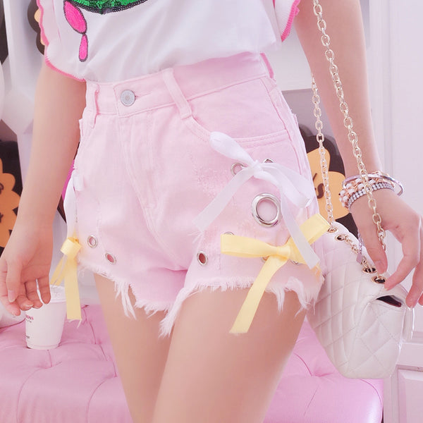 Pink Girls Shorts JK1829