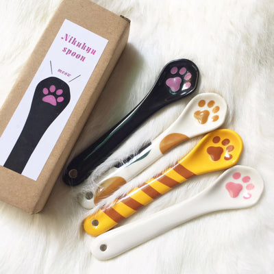 Cats Paws Ceramic Spoon JK1123