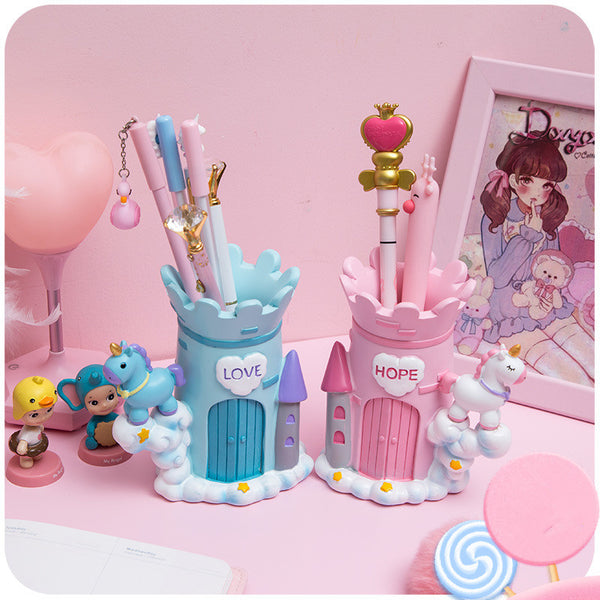 Kawaii Unicorn Pen Holder JK1221