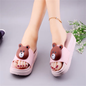 Kawaii Brown Slippers JK1491