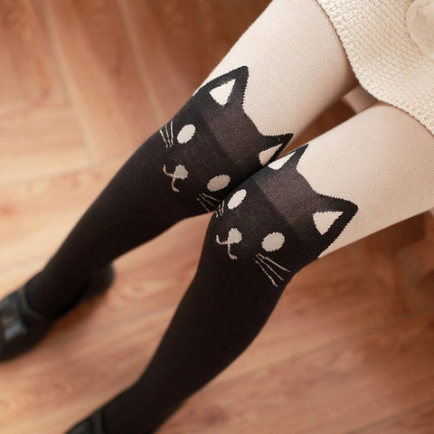 Cute Cat Long Socks JK1934