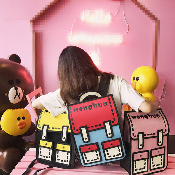 Kawaii Colorful Backpack JK1164