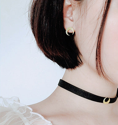 Fashion Sailormoon Choker and Earrings JK1717