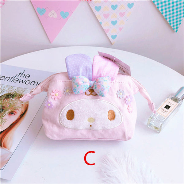 Cinnamoroll and Melody Makeup Bag JK1114