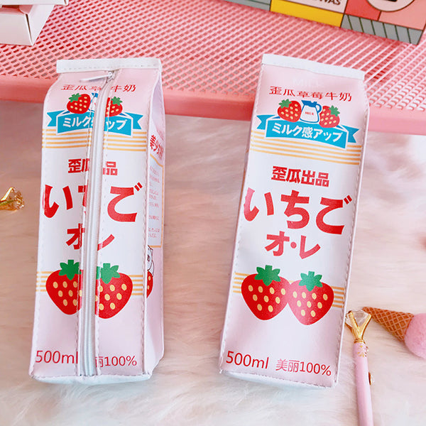 Strawberry Milk Stationery Bag  JK1467