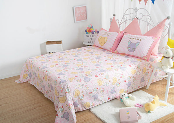 Cartoon Sakura Bedding Set JK1614