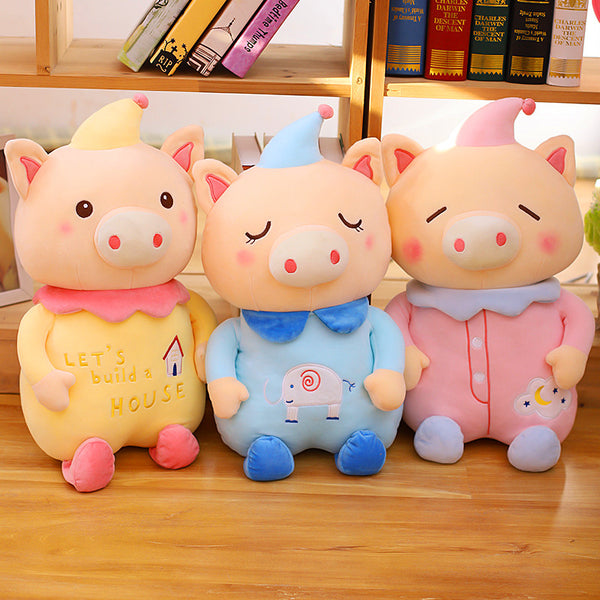Sleepy Happy Pig Hold Pillow JK1016