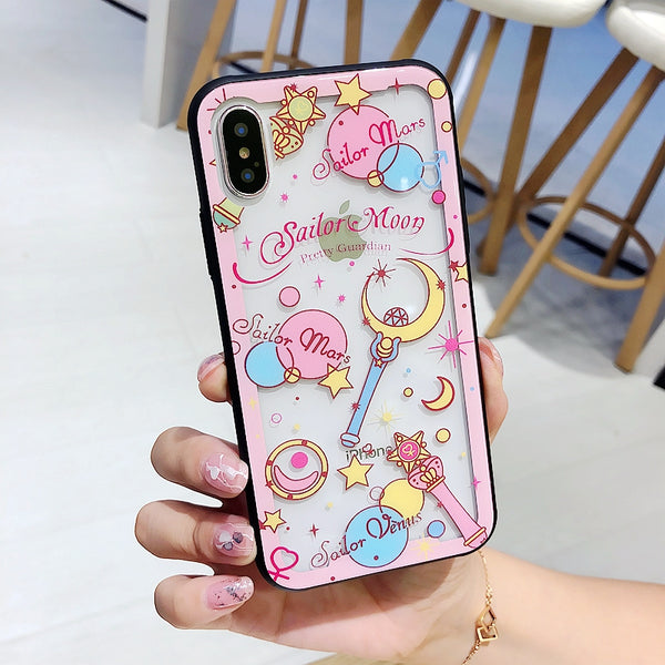 Sailormoon Phone Case for iphone 6/6s/6plus/7/7plus/8/8P/X/XS/XR/XS Max JK1138
