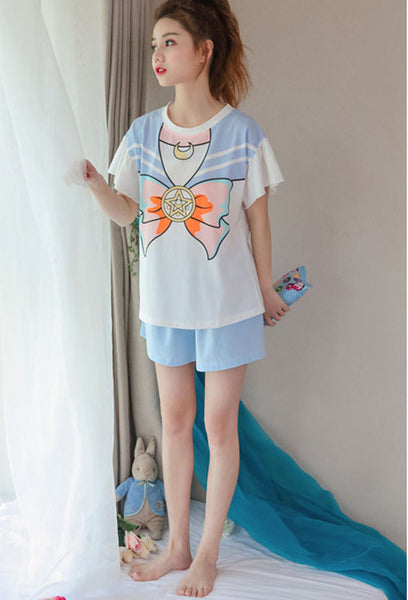Butterfly Summer Pajamas Suit JK1370