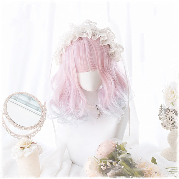 Pink Fashion Lolita Cosplay  Wig JK1494
