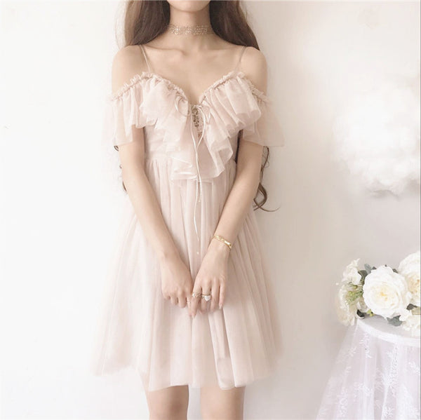 Sexy Chiffon One-piece Dress JK1204
