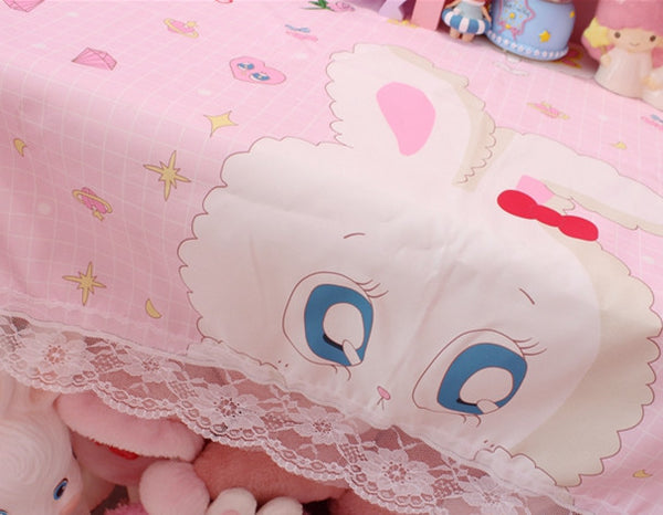 Lovely Rabbit Table Cloth JK1573