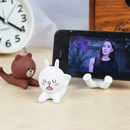 Lovely Brown and Cony Phone Holder JK1471
