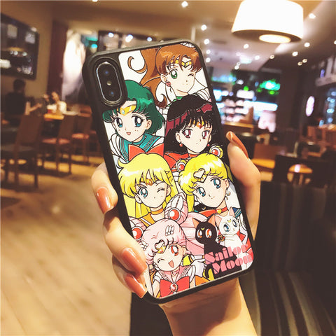 Lovely Usagi Phone Case for iphone 6/6s/6plus/7/7plus/8/8P/X/XS/XR/XS Max JK1759