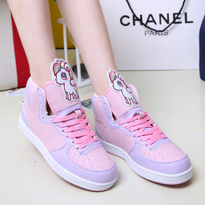 Kawaii Twin Stars High-top  Sneakers JK1270