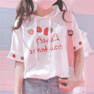 Fashion Strawberry T-Shirt  JK1280