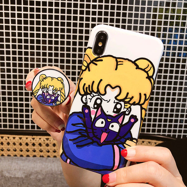 Angry Usagi Phone Case for iphone 6/6s/6plus/7/7plus/8/8P/X/XS/XR/XS Max JK1025