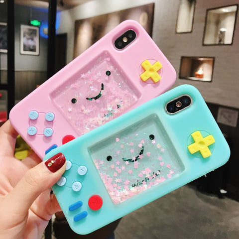 Fashion Game Machine Phone Case for iphone 6/6s/6plus/7/7plus/8/8P/X/Xs/XR/XsMax JK1117