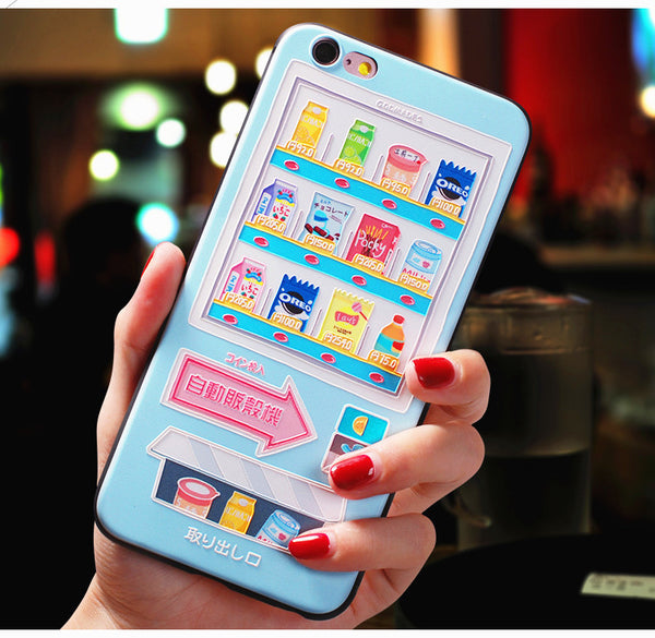 Snacks And Milk Phone Case for iphone 6/6s/6plus/7/7plus/8/8P/X/XS/XR/XS Max JK1068