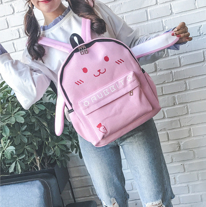 Cute Rabbits Backpack JK1702