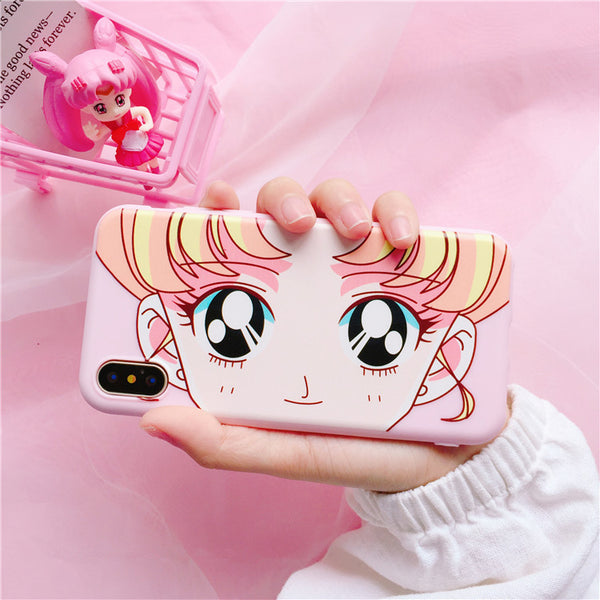 Big Eyes Usagi Phone Case for iphone 5/5s/5se/6/6s/6plus/7/7plus/8/8P JK1111