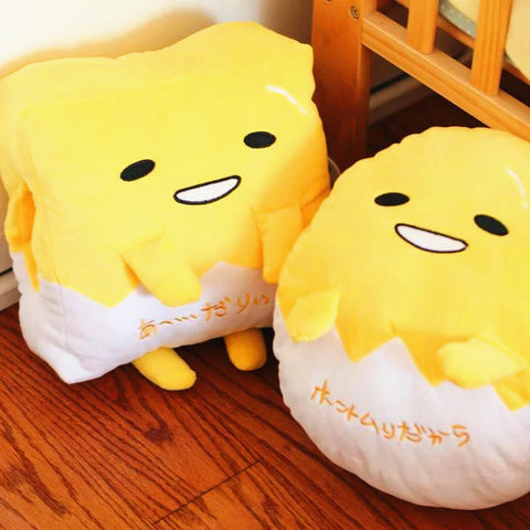 Gudetama Pillow And  Blanket JK1062