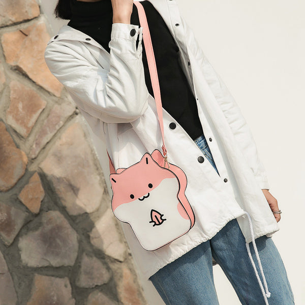 Cute Hamster Shoulder Bag JK1935