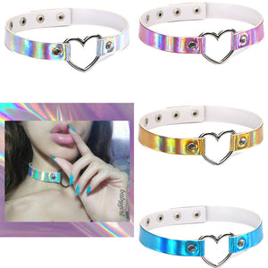 Fashion Heart Choker JK1675