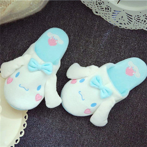 Blue Dog Girls Slippers JK1040