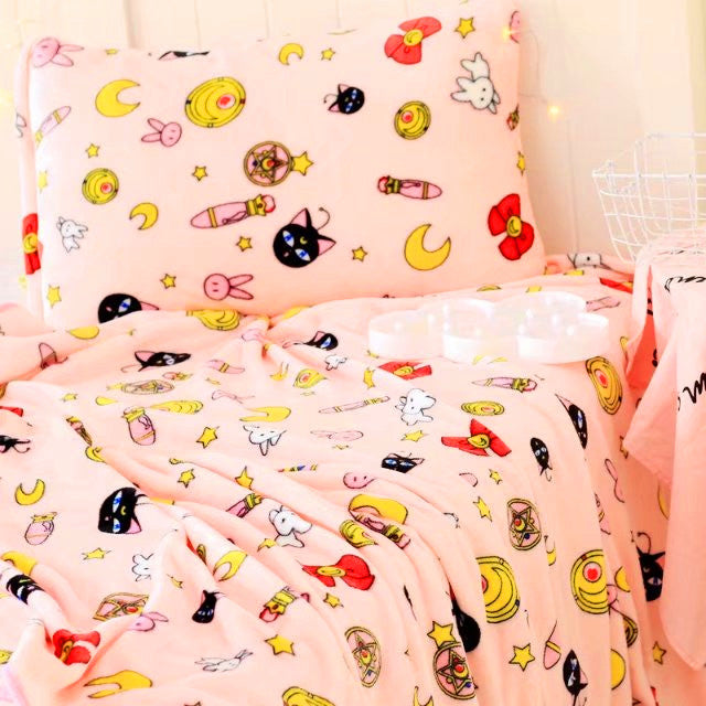 Sailormoon Luna Blanket JK1054
