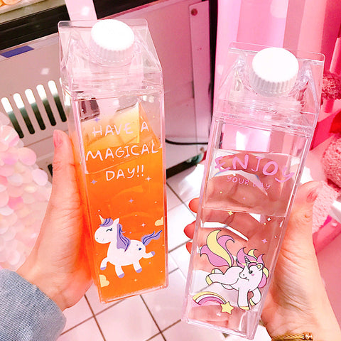 Kawaii Unicorn Water Bottle  JK1125