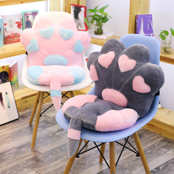 Lovely Cats Paw Seat Cushion JK1523