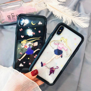 Running Usagi Phone Case for iphone 6/6s/6plus/7/7plus/8/8P/X/XS JK1090