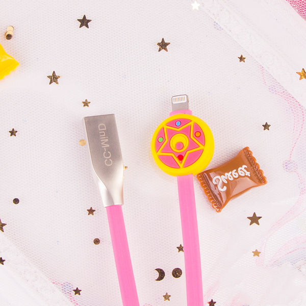 Sakura Mobile Phone Charging Cable For Iphone   JK1366