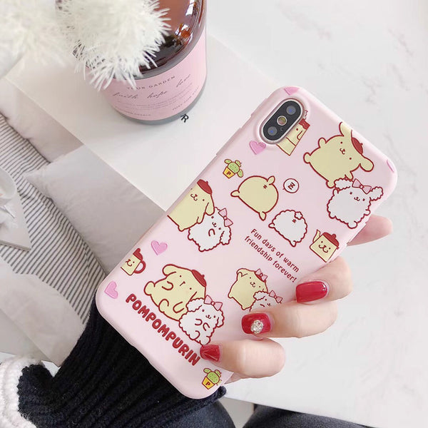 Little Star and Melody Phone Case for iphone 6/6p/6s/6sp/7/7plus/8/8P/X/Xs/XR/Xs MAX JK1095