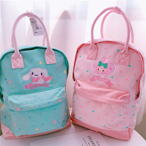 Mymelody and Cinnamoroll Backpack JK1093