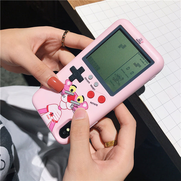 The Pink Panther Game Machine Phone Case for iphone 6/6s/6plus/7/7plus/8/8P/X/XS/XR/XS Max JK1255