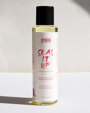 Gemini Naturals Seal It Up Oil Serum in 4oz Bottle
