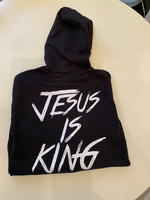 "Jesus is King ""Zippered Hoodie"""