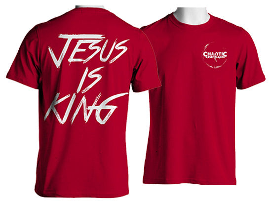 Jesus Is King T-Shirt (Red)