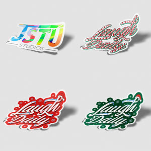4 Pack - Die Cut Stickers