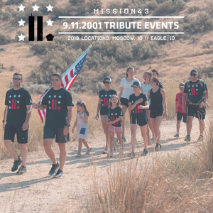 Registration: 2019 September 11th Miles of Remembrance (Treasure Valley)
