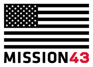 MISSION 43 Sticker set (3 pack)
