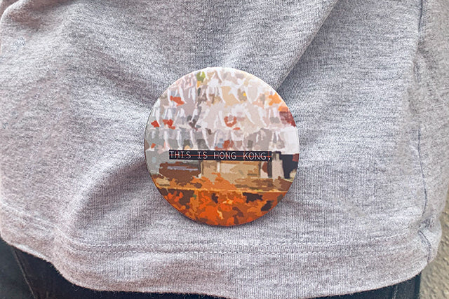 custom button pin