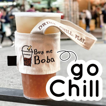 goChill - Canvas Cup Holder - ChillTee